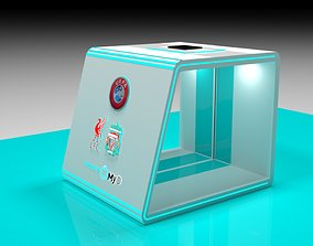 animated Auto Sanitizing Gate Design 3D - Disinfection