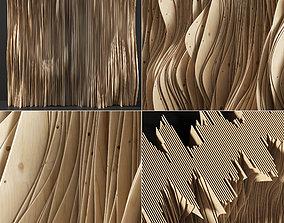 Parametric Plywood panel decor 3D