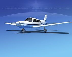Piper PA-28 V07 3D