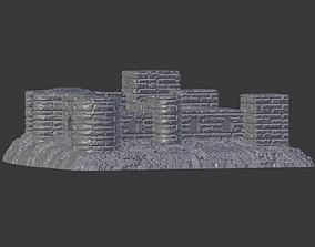 3D printable model Mersin Erdemli Girls Castle outdoor