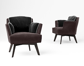 Linteloo Azzano armchair 3D model