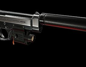 3D model Pistol Beretta 92