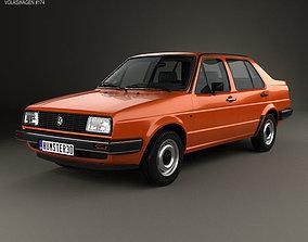Volkswagen Jetta 1984 3D