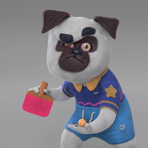 Ping Pong Pug