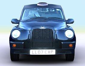 3D asset london taxi 2007