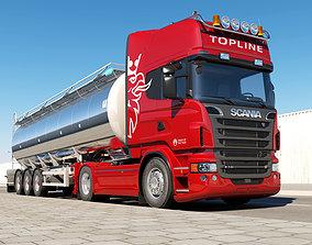 Scania R 730 Tanker 3D