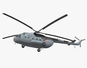 Mi-8T India Air Force 3D model
