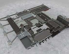 LIMC Terminal2 Departure 3D asset