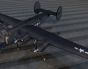 Consolidated PB4Y-1 Liberator 3D model