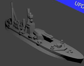 British Roberts Class Monitor Warship 3D printable model