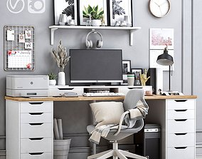 3D Office workplace 19