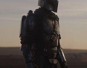 3D printable model Star Wars Mandalorian Beskar Armor 1