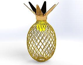 3D model Pineapple lamp