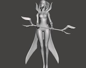 Elementalist Lux Magma 3D Model