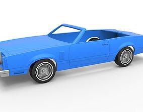 3D print model Diecast shell and wheels Thunderbird 1979 4