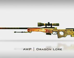 3D AWP I Dragon Lore