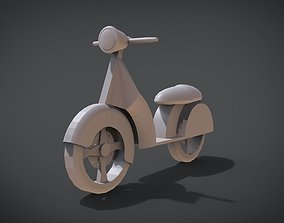 Scooter 3D printable model
