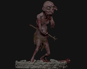 Dobby Zombie for 3DPrinting creature