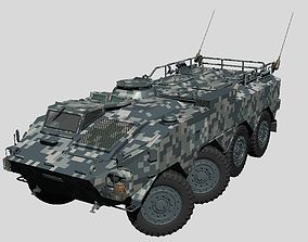 3D Japan Ground Self Defense Force Type96 Armored 1