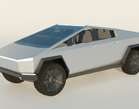 3D model realtime Tesla Cybertruck
