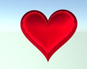 Heart 3D love