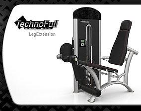 3D asset leg extension