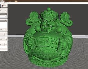 3D print model The God of wealth