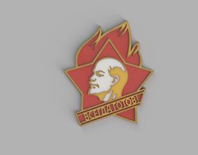 3D print model Communism Logo