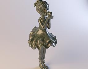 3D print model Ballerina statuette