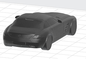Mercedes Benz SLS 3D printable model