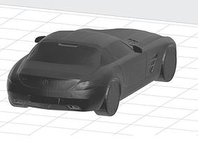 Mercedes Benz SLS 3D printable model