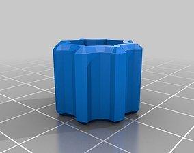 3D print model My Customized Thumb Knob - Metric