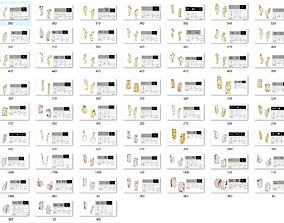 Bulk Earrings-0008-stl-59 Files 3D print model