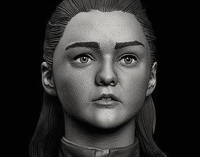 3D printable model Arya Stark Bust