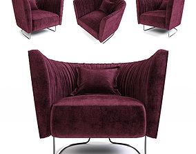 Desiree Shellon armchair 3D model