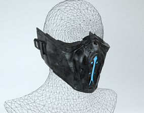 Sub-Zero SUBZERO mask Mortal Combat X 3D print model