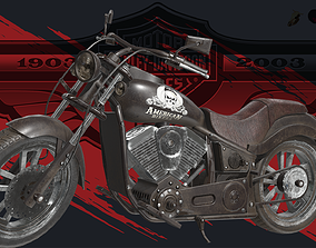 3D asset realtime Motorcycle