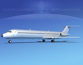 3D Douglas DC-9-50 Executive 4