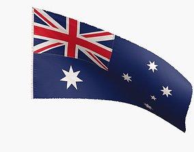 Australia Flag 3D model
