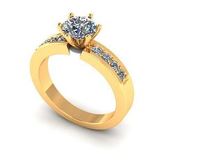 3D printable model Wedding Ring R006
