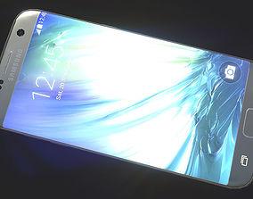 Samsung Galaxy s7 PBR lowpoly 3D asset