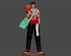 3D print model SAKURAGI SPORTS WEAR SLAMDUNK BASKETBALL 2