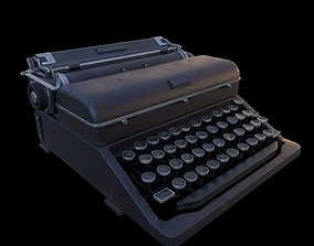 Typewriter 3D model VR / AR ready