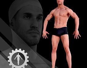 3D asset Male Scan - Mick 005