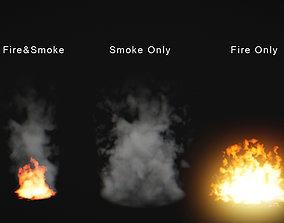 Fire and Smoke Pro 3D model