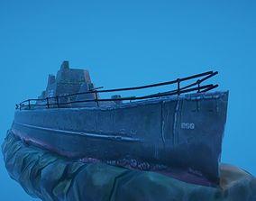 3D model Battleship Shipwreck