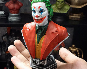 comic 3D print model Joker 2019 Bust