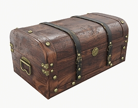 Old chest 03 3D
