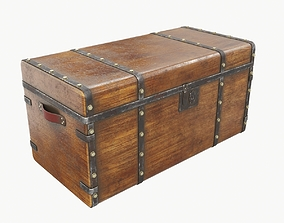 other 3D model Old chest 01