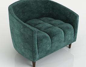 3D The Carla armchair